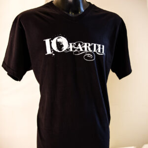IO Earth Splatter Logo T-Shirt