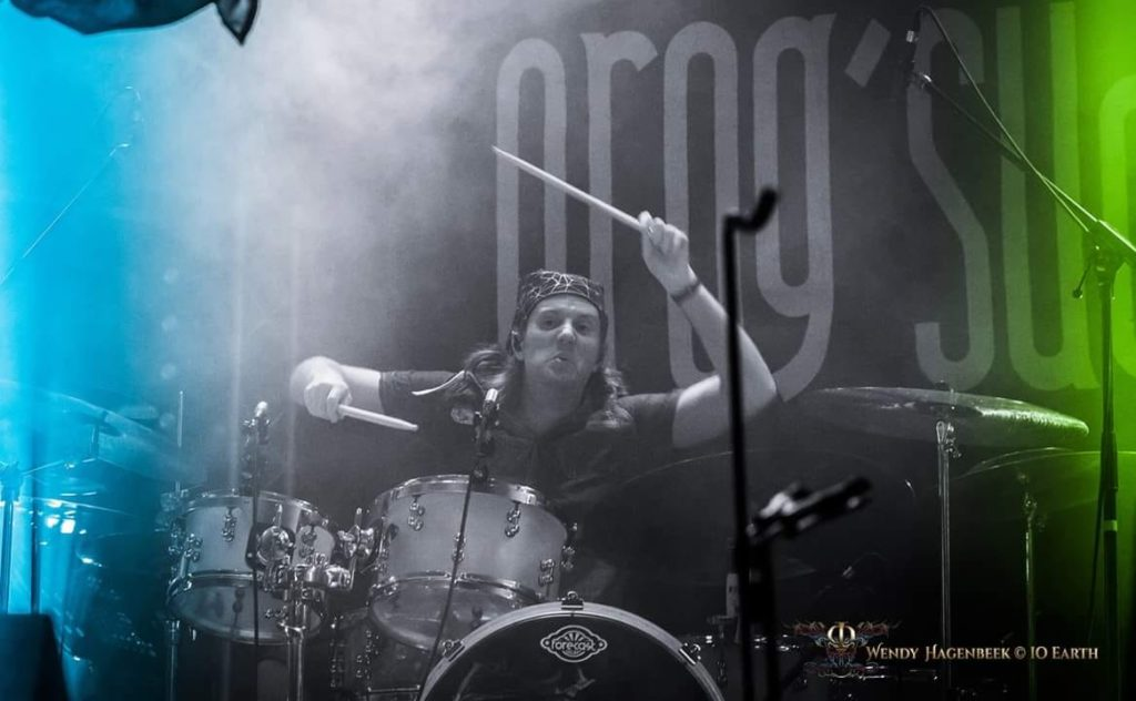 New drummer in IO EARTH