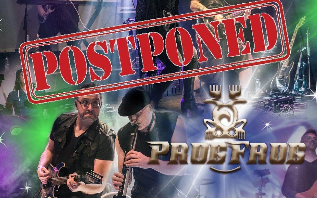Postponed: IO Earth at ProgFrog Holland