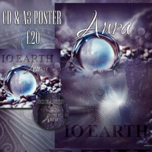 IO Earth - Aura CD and Poster