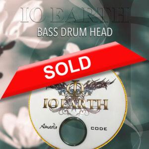 IO Earth - Bass Drum Head